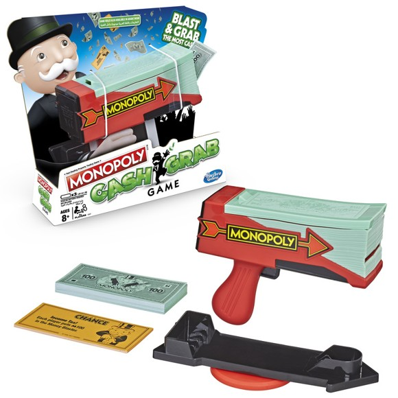 Hasbro Gaming - Monopoly - Cash Grab Brætspil (E3037189)