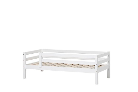 Hoppekids - BASIC Bed With Safety Rail 70x160 cm - White