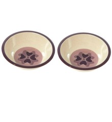 Smallstuff - 2x Bamboo Bowl Flower