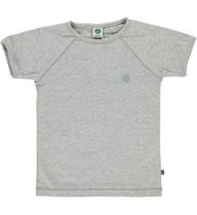 Småfolk - Organic Basic T-Shirt - Grey Mix