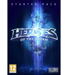 Heroes of the Storm - Starter Pack (Code via Email)