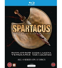 Spartacus: Complete Box (Re-Pack) (Blu-Ray)