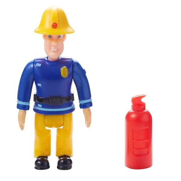 Fireman Sam - Figure and Accessory - Sam with Fire Extinquisher