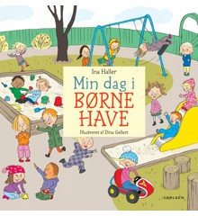 Børnebog - Min Første Dag i Børnehave