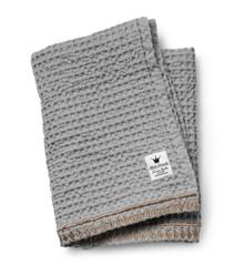 Elodie Details - Gilded Waffle Blanket - Grey