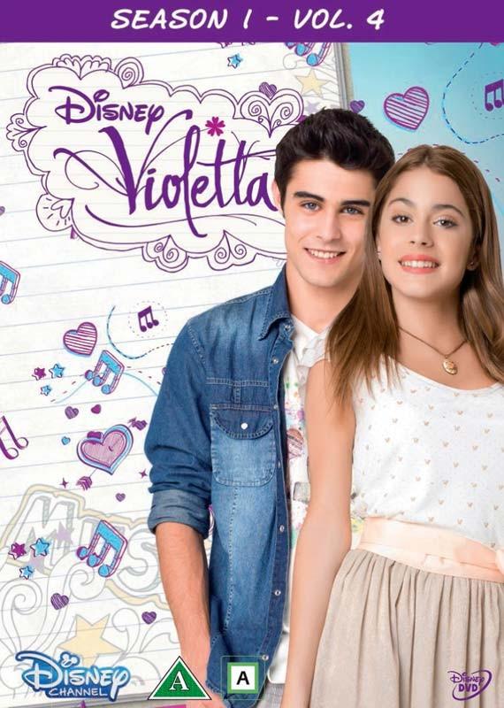 Buy Violetta Season 1 Vol 4 5 Disc Dvd