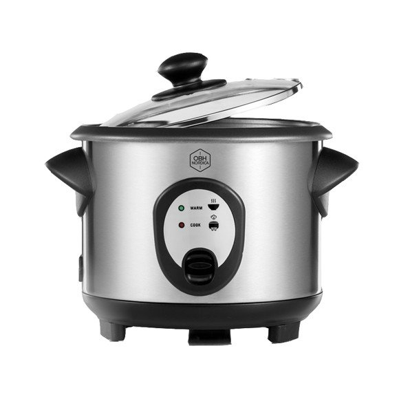 OBH Nordica – Inox Rice Cooker - Silver (6322)