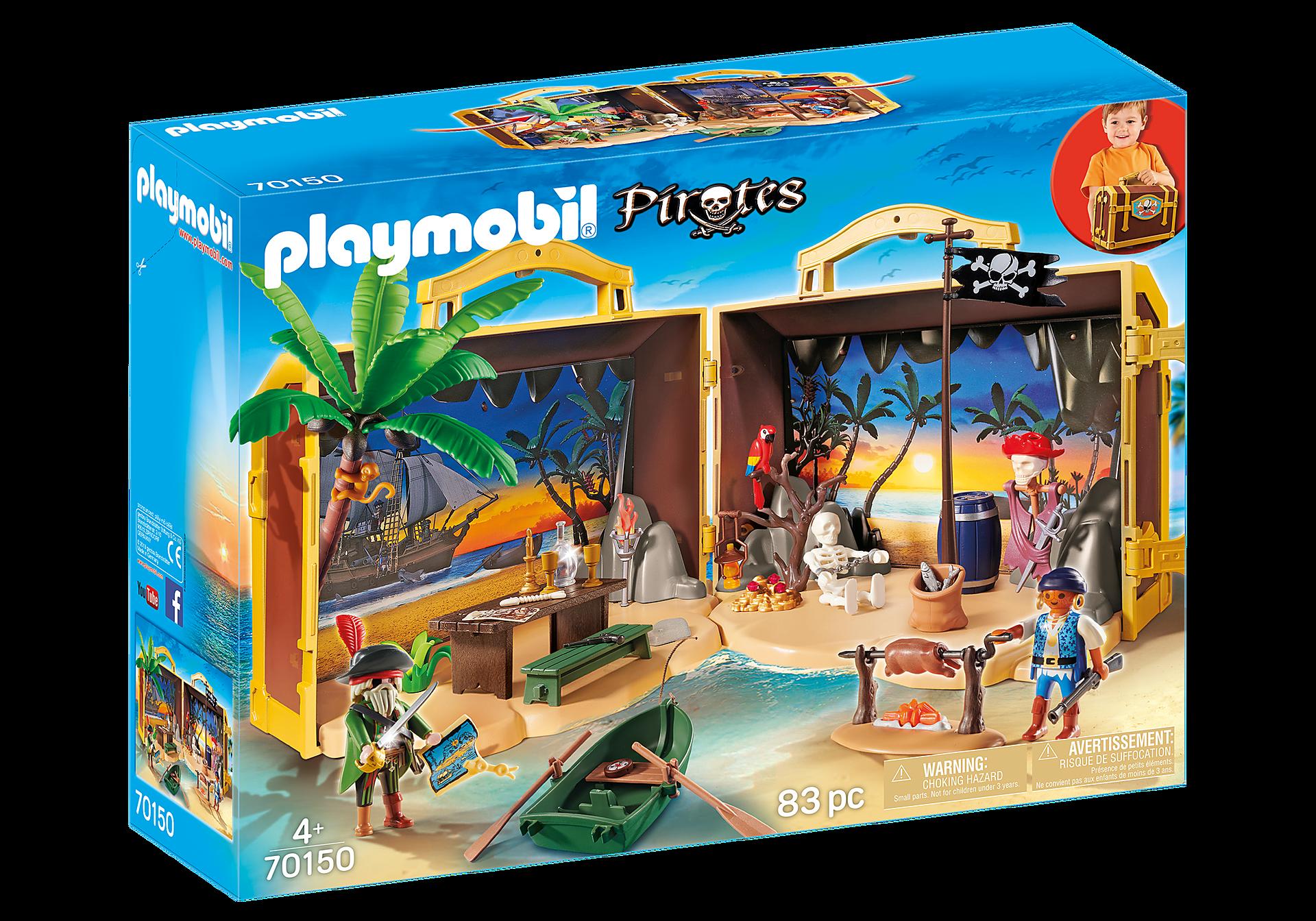 Playmobil - Take Along Pirate Island (70150)