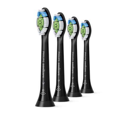 Philips - Sonicare Optimal White  Toothbrush Heads 4 Pack HX6064/11