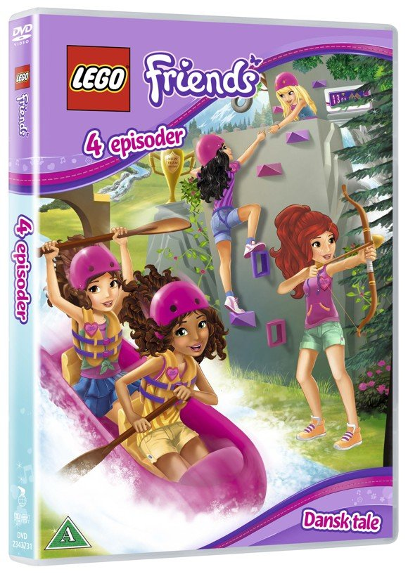 LEGO Friends - 4 episoder - DVD
