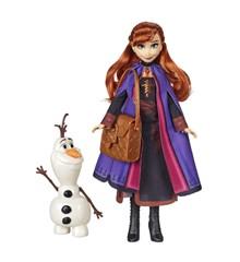 Disney Frozen 2 - Fashion Doll - Anna & Olaf (E6661)