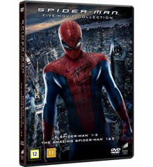 Spider-Man: 5 Movie Collection - DVD