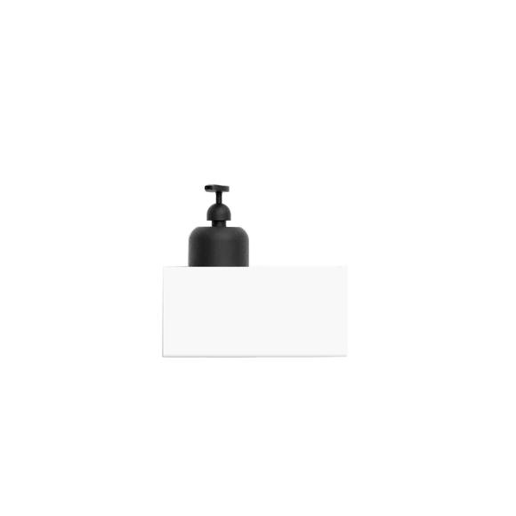 Nichba - Bath Shelf 20 - White (L100104W)