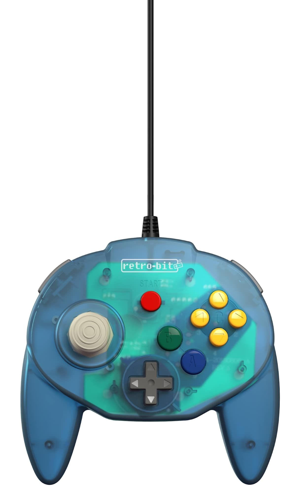 Retro-Bit Tribute 64 USB (Ocean Blue)