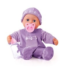 Bayer - Doll - First Words Baby Purple 38 cm (93826AA)