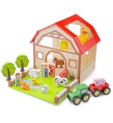 New Classic Toys - Bondegård i Træ