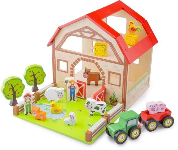 New Classic Toys - Wooden Farm (N10850)