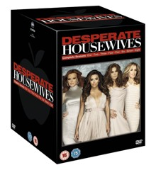 Desperate Housewives: Komplet boks 1 - 8 - DVD