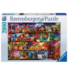 Ravensburger - Puzzle 2000 - Travel Shelves (10216685)