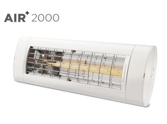 Solamagic - AIR+ 2000 Patio Heater White