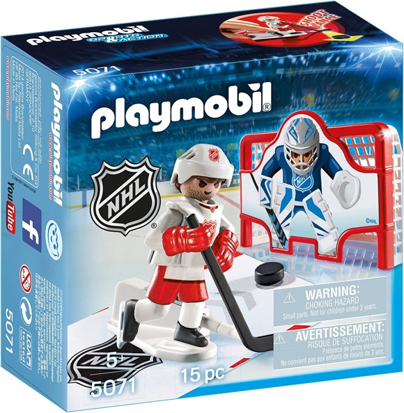 Playmobil - NHL Hockey Shooting Pad (5071)