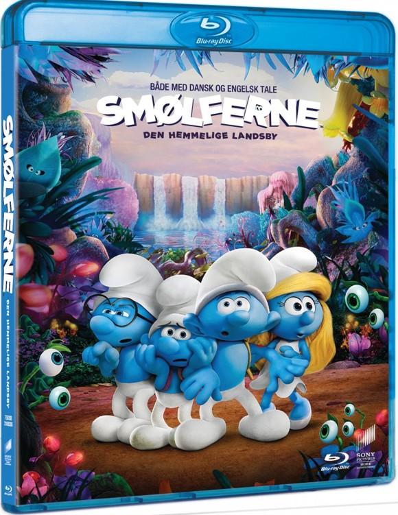 Smølferne - Den Hemmelige Landsby (Blu-Ray)