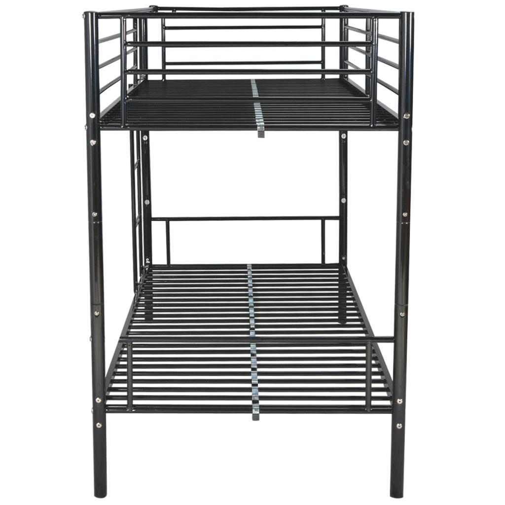 Kaufe Vidaxl Children S Bunk Bed Frame 200x90 Cm Metal Black