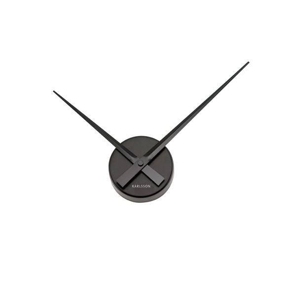 Karlsson - Little Big Time Wall Clock Mini - Black (ka4348bk)