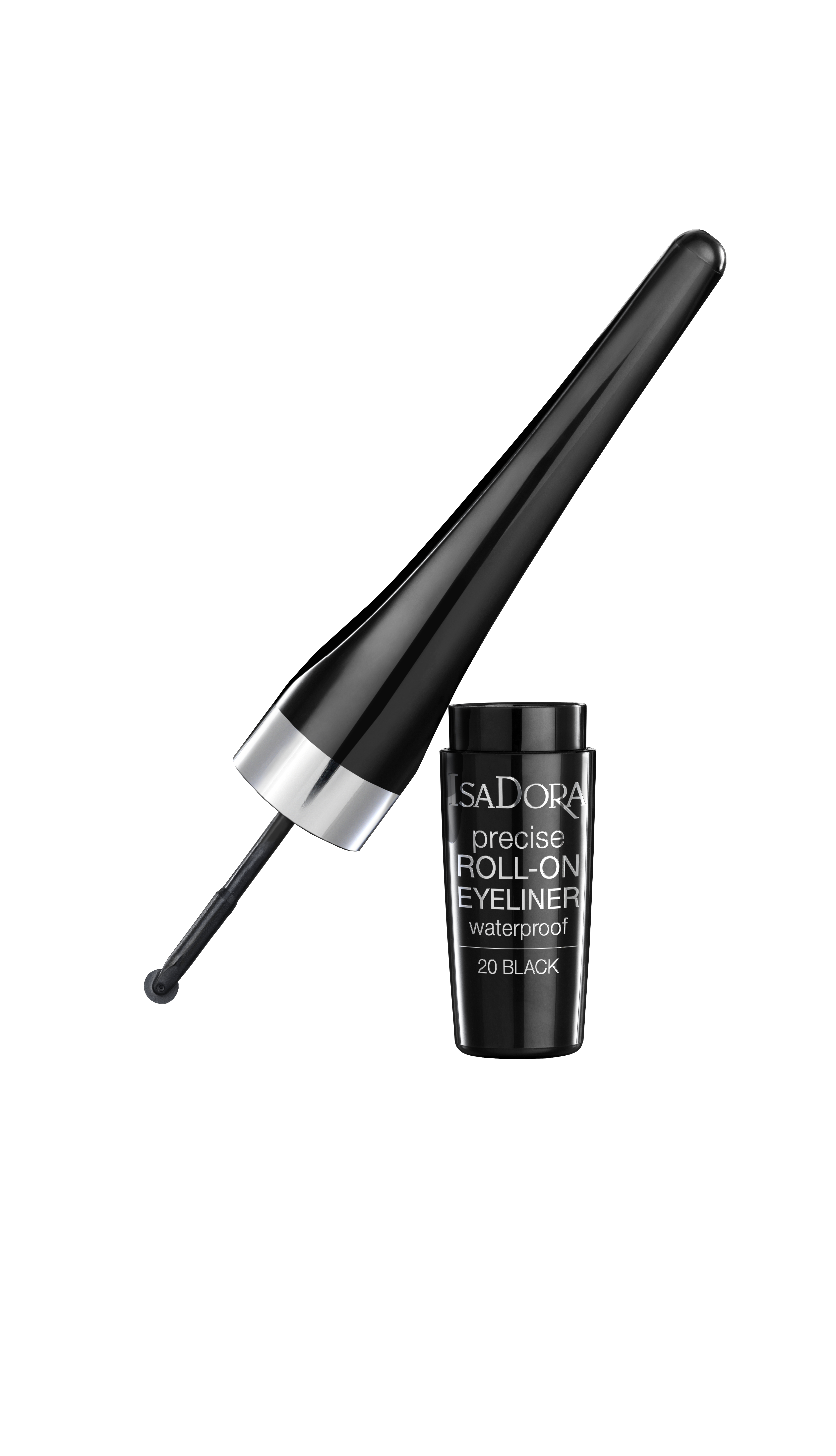 IsaDora - Precise Roll-On Eyeliner - Black
