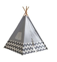 KidKraft - Modern Gray Teepee with Chevron (00229)