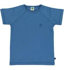 Småfolk - Økologisk Basis T-Shirt - M. Blå