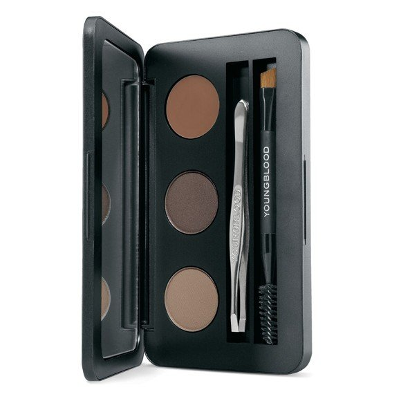 YOUNGBLOOD - Brow Kit - Dark Brown