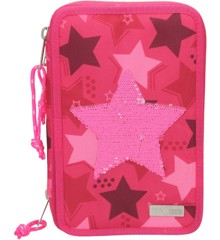 Top Model - Trippel Pincel Case w/Sequin Star - Pink (0010717)