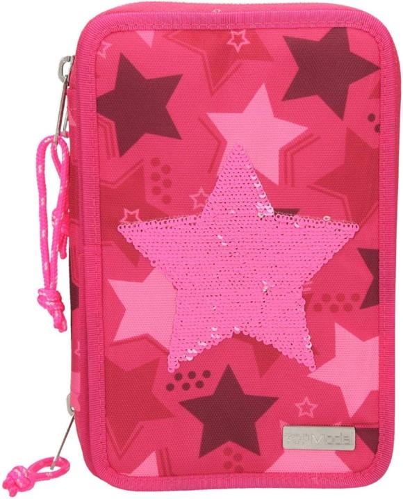 Top Model - Trippel Pincel Case w/Sequin Star - Pink (0010717)