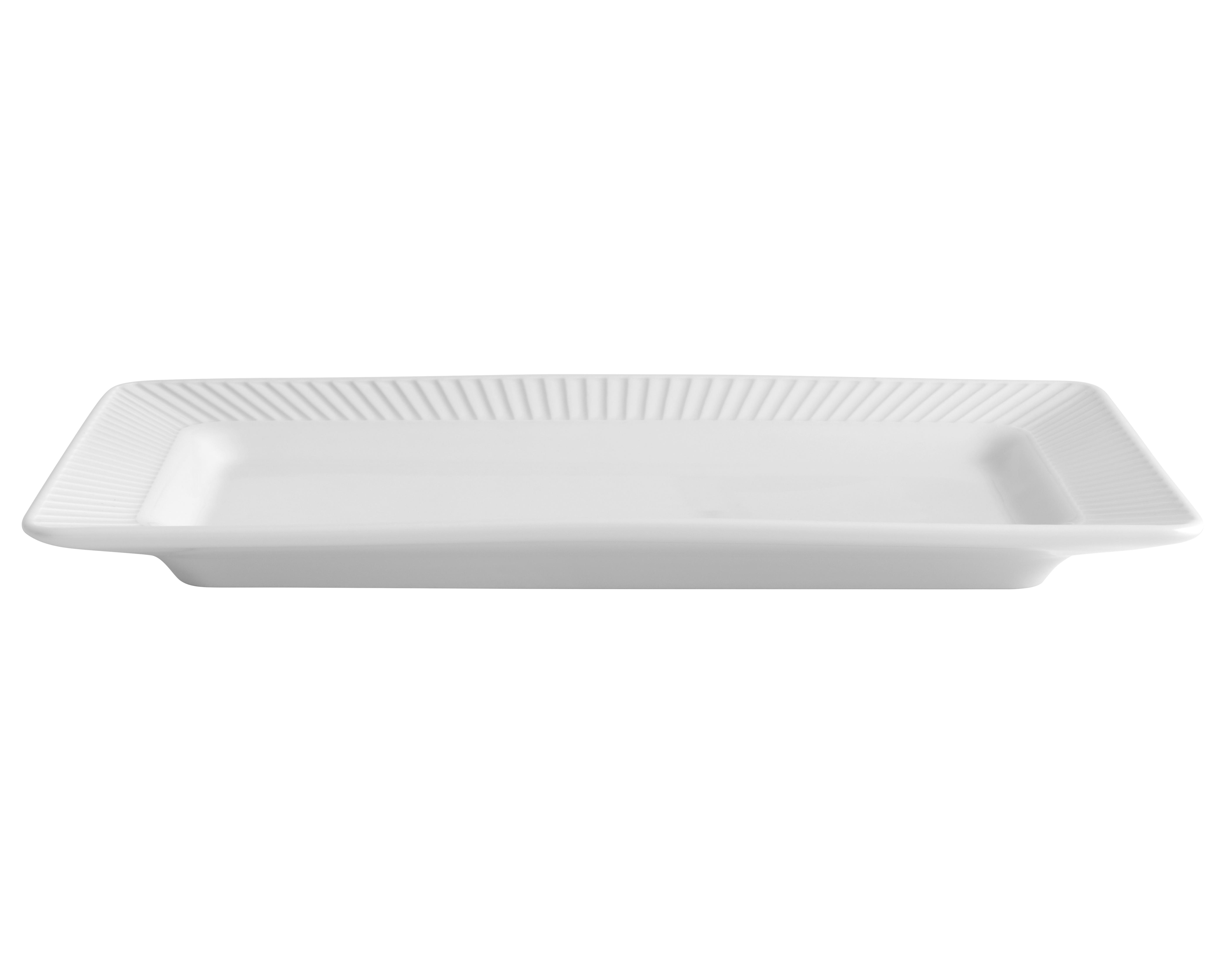 Pillivuyt - Plissé Rektangulert Dish 26 x 14 cm (224226)