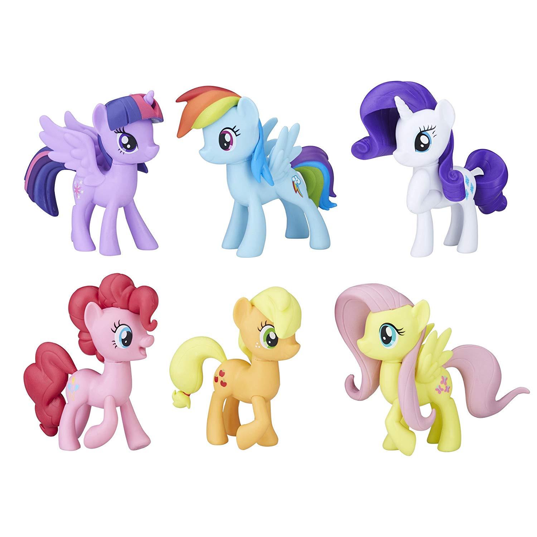My Little Pony - Mød Mane 6 Ponies Samling