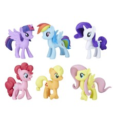 My Little Pony - Mød Mane 6 Ponies Samling