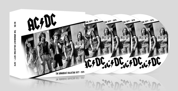 AC/DC The broadcast collection 1977-1979 (4 CD)