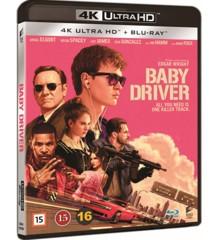 Baby Driver (4K Blu-Ray)