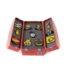 Crash Team Racing Toolbox Pin Badge Set