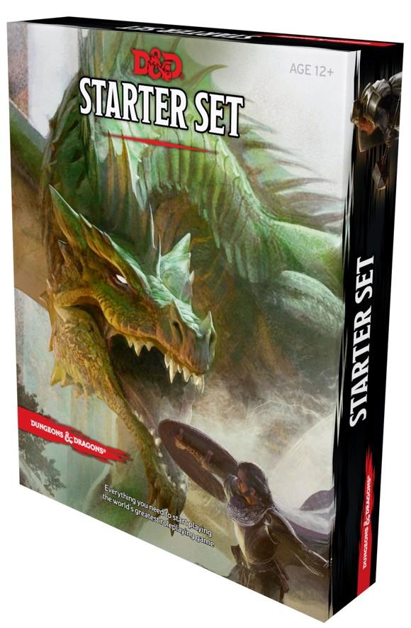 Dungeons & Dragons -  5th Edition Starter Set (D&D) (Engelsk)
