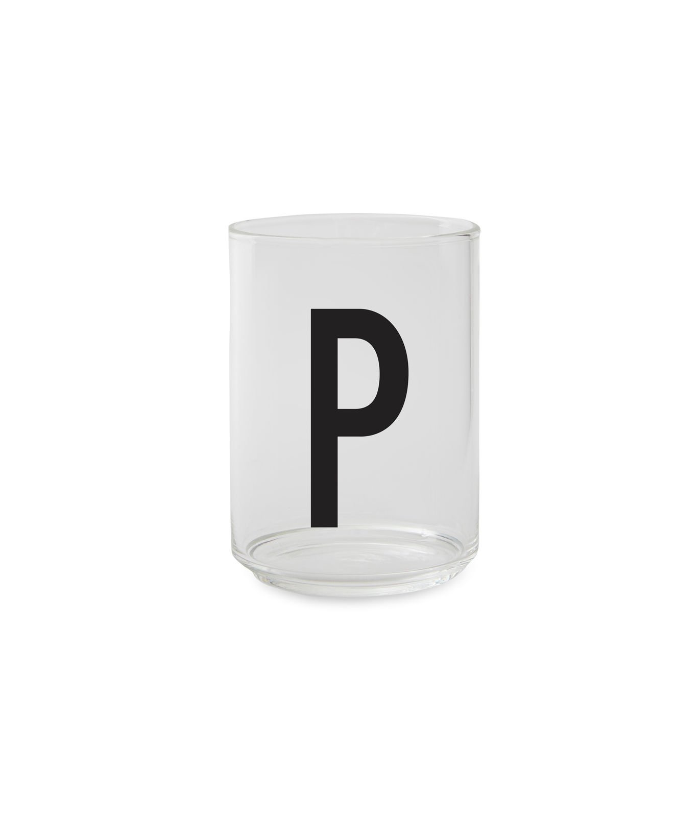 ​Design Letters - Personal Drinking Glass P (10205000P)