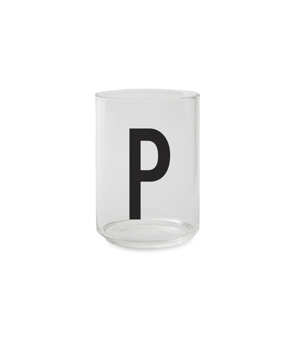 Design Letters - Personal Drinking Glass P (10205000P)