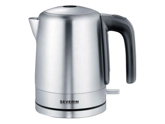 Severin - Elkande 1,0 liter 2200 watt - Rustfrit Stål
