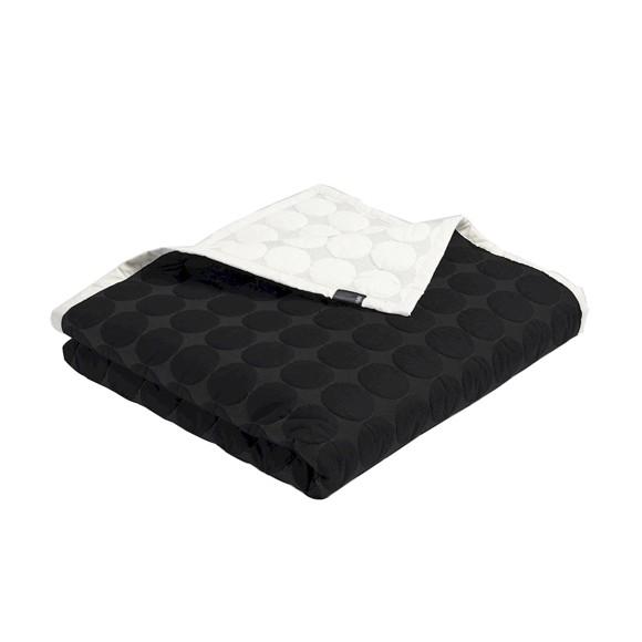 HAY - Mega Dot Quilt 195 x 245 cm - Black/Cream (508092)