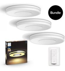Philips Hue - 3xBeing Deckenleuchte - White Ambiance - Bluetooth - Bundle