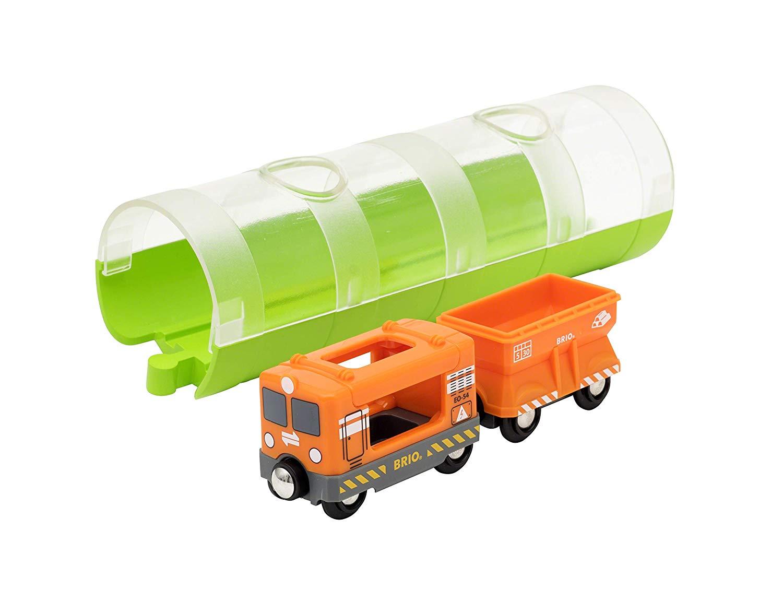 BRIO - Cargo Train and Tunnel (33891)
