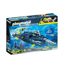Playmobil -TEAM S.H.A.R.K. Destroyer med bor (70005)