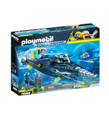 Playmobil -TEAM S.H.A.R.K. Drill Destroyer (70005)