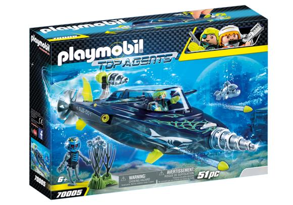 Playmobil -TEAM S.H.A.R.K. Drill Destroyer (70005)